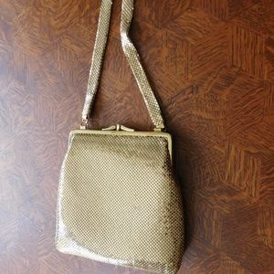 Handbags - Gold Mesh Evening Bag ( like new!)